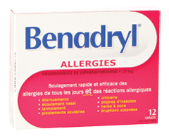 Image of product Benadryl - Benadryl Caplets, 12  units