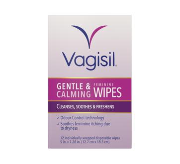 Image of product Vagisil - Feminine Wipes, 12 units