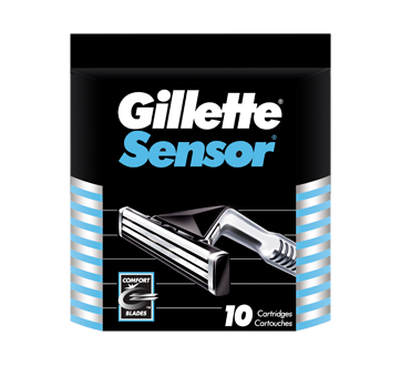 Image of product Gillette - Sensor Men's Razor Blade Refills, 10 units