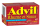Thumbnail of product Advil - Advil Cold & Sinus Caplets, 40 units