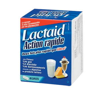 Image of product Lactaid - Fast Act Caplets, 40 units