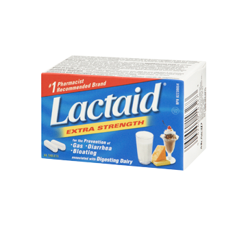 Image 1 of product Lactaid - Extra Strength Tablets, 40 units