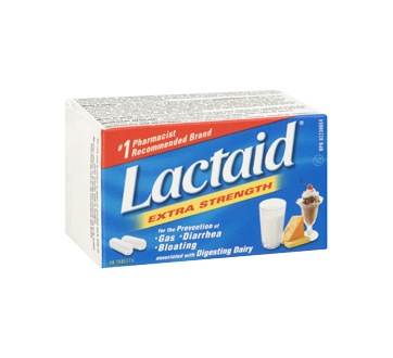 Image 2 of product Lactaid - Extra Strength Tablets, 40 units