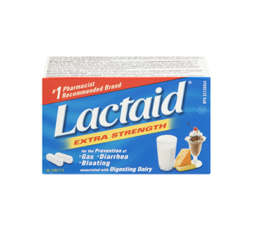 Image 3 of product Lactaid - Extra Strength Tablets, 40 units