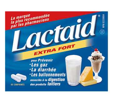 Image 1 of product Lactaid - Extra Strength Tablets, 80 units