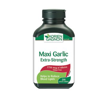 Image of product Adrien Gagnon - Maxi Garlic Extra Strength, 200 units
