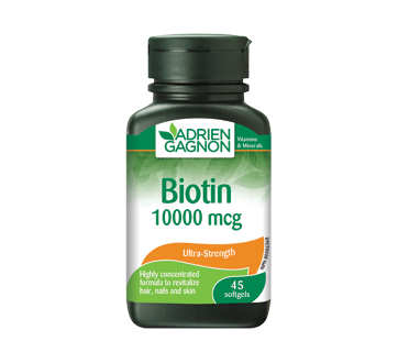 Image of product Adrien Gagnon - Biotin 10 000 mcg, 45 units