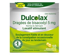 Image of product Dulcolax - Laxatif, 10 units