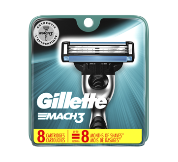 Image of product Gillette - Mach3 - 8 Cartridges