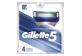 Thumbnail of product Gillette - Gillette5 Men's Razor Blade Refills, 4 units