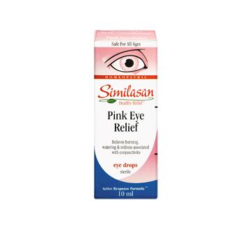Pink Eye Relief Eye Drops 10 Ml Similasan Eye Drops Jean Coutu