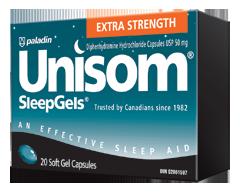 Image of product Unisom - Sleep Gels Extra-Strength, 20 units