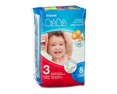 Image of product Personnelle - Baby Diapers, 8 diapers