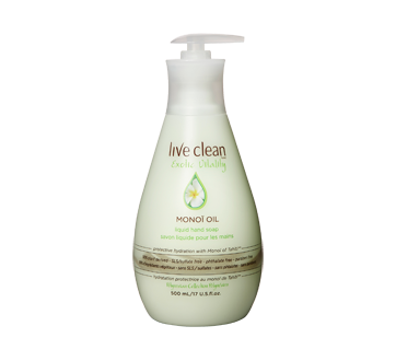 Exotic Vitality Monoi Oil Hydrating Liquid Hand Soap, 500 ml