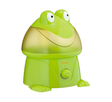 Image 1 of product Crane - Ultrasonic Cool Mist Humidifier, 1 unit, Frog