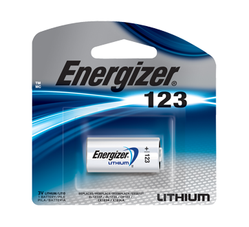 Image of product Energizer - Specialty Batteries, 1 unit, EL123APBP