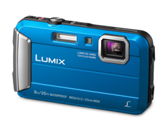 Image of product Panasonic - Lumix Camera TS30 Water Resistant, Blue