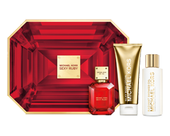Image of product Michael Kors - Sexy Ruby Gift Set, 3 units