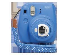 Image of product Fujifilm - Fuji Instax Mini 9 Instant Print Camera, 1 unit, Cobalt Blue