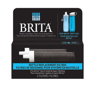 Brita Water Filter Bottle Replacement Filters, 2 units