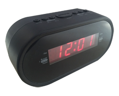 Image of product Sylvania - Digital Alarm Clock Radio, 1 unit