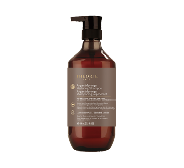 Image of product Therorie - Argan Moringa Restoring Shampoo, 400 ml