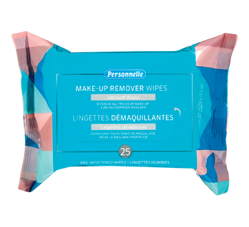 Makeup Remover Wipes, 25 units