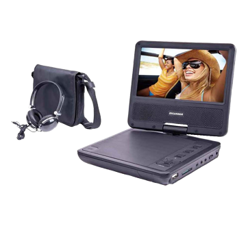 Portable DVD Player with Headphone , 1 unit