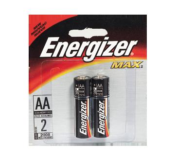 Batteries, Regular Packs, Max AA-2