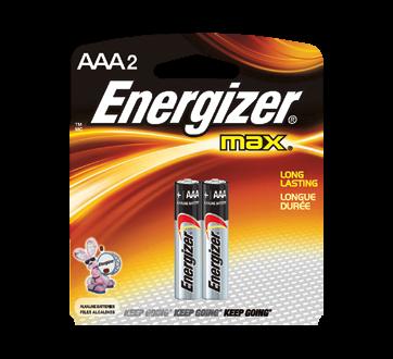 Batteries, Regular Packs, Max AAA-2