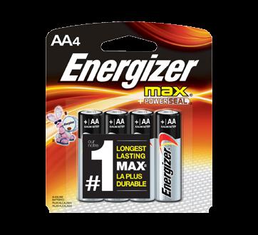 Batteries, Regular Packs, Max AA-4