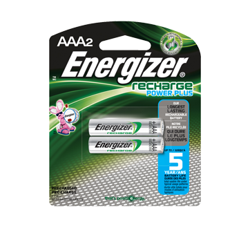 Image of product Energizer - Batteries, Recharge Power Plus AAA-2