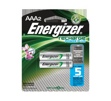 Batteries, Recharge Power Plus AAA-2