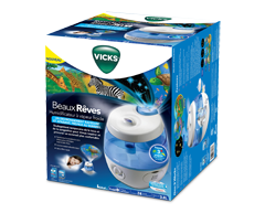 Image of product Vicks - Sweet Dreams Cool Mist Ultrasonic Humidifier