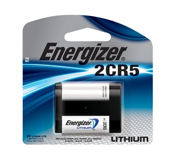 Image of product Energizer - Specialty Batteries, 1 unit, EL2CR5BP