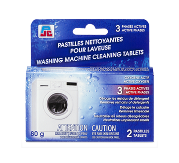 Washig Machine Cleaning Tablets, 2 x 40 g