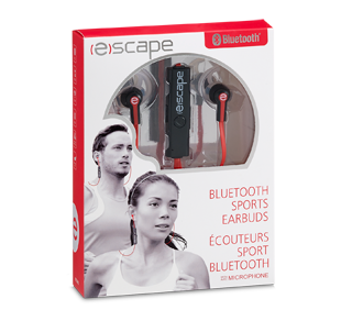Bluetooth Sports Earbuds with Microphone, 1 unit