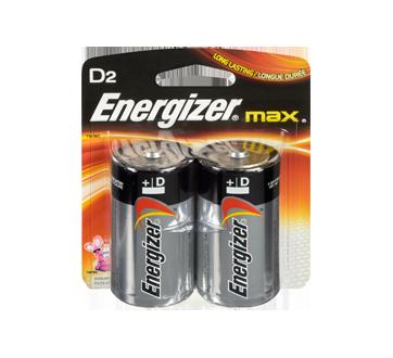Batteries, Regular Packs, Max D-2