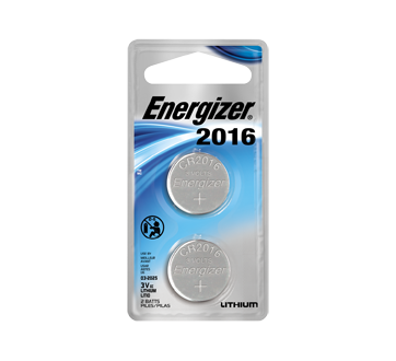 Image of product Energizer - 2016 Lithium Batteries, 2 units