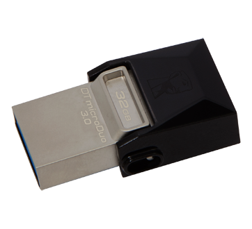 Image 2 of product Kingston - DataTraveler 32GB microDuo USB 3.1 + Type-C Flash Drive, 1 unit