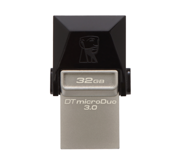 Image 3 of product Kingston - DataTraveler 32GB microDuo USB 3.1 + Type-C Flash Drive, 1 unit