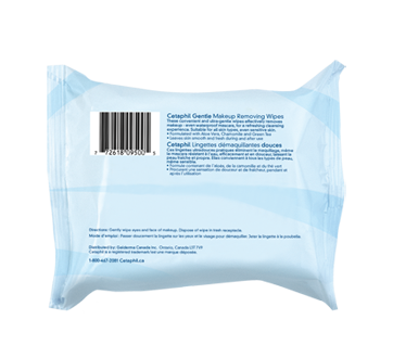 Image 2 of product Cetaphil - Gentle Makeup Removing Wipes, 25 units