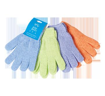 Exfoliating Bath Glove, 2 units