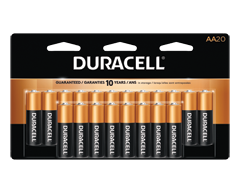 Image of product Duracell - Coppertop AA Alkaline Batteries, 20 Batteries