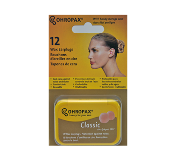 Image of product Ohropax - Wax Ear Plugs, 12 units