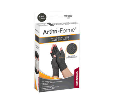 Image of product Formedica - Arthritis Gloves, 1 unit, 7.5 - 9 cm, Grey