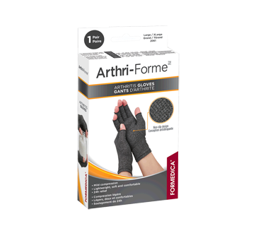 Image of product Formedica - Arthritis Gloves, 1 unit, 9 - 10 cm, Grey