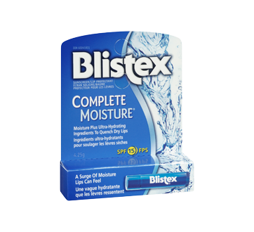 Image 2 of product Blistex - Complete Moisture Lip Balm SPF 15, 4.25 g