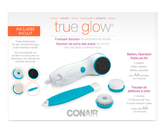 Image of product True Glow - Battery-Operated Pedicure Kit