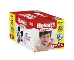 Image of product Huggies - Snug and Dry Diapers, 96 units, Step 4